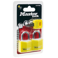 Zestaw 2 kłódek + klucz 30 mm MASTER LOCK