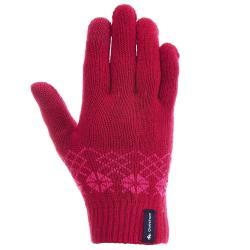 Rękawiczki turystyczne dotykowe Arpenaz 50 dla dzieci QUECHUA