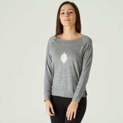 Koszulka fitness długi rękaw AIR+ damska